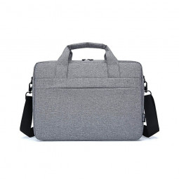 Laptop Bag Shoulder Bag Carry Case Cover Tablet Bag with Strap for 14.1 and 15.6 inch Laptop - Grey