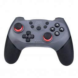 NSP Bluetooth Wireless Gamepad Joystick Pro Controller for Nintendo Switch - Silver + Grey