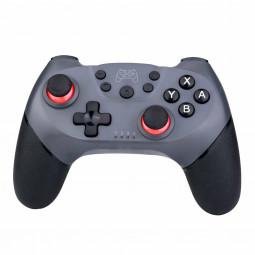 NSP Bluetooth Wireless Gamepad Joystick Pro Controller for Nintendo Switch - Silver + Grey