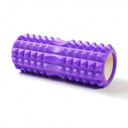 Yoga Column Foam Roller Foam Roller Back Massage Roller for Painful Muscles and Back Pain - Purple