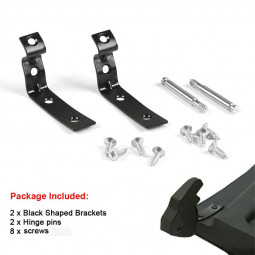 Glove Box Lid Hinge Snapped Repair Fix Kit Brackets for Audi A4 S4 RS4 B6 B7 8E