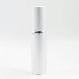 10ml High-grade Anodized Aluminum Cylindrical Spray Bottle Perfume Bottle - Silver