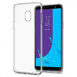Clear TPU Back Case Cover for Samsung Galaxy J4 2018
