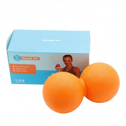 Fitness Massage Ball for Relieve Body Pain and Relax Muscles - Orange