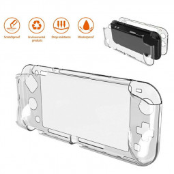 Transparent Clear Shockproof Protective Hard Case Cover for Nintendo Switch Lite