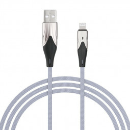 2m 8pin Charging Cable Apple iPhone Cables - Grey