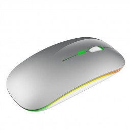 M40 2.4GHz Wireless 4-Keys 1600 DPI Adjustable Optical Vertical Mouse - Silver