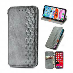 Wallet Case Flip Cover Magnetic PU Leather with Stand for iPhone 11 Pro - Grey