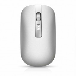 M50 Bluetooth 5.1 2.4G Wireless 4-Keys 1600 DPI Adjustable Ergonomics Optical Vertical Mouse - White