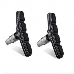 2PCS Premium Bike Brake Pads V-brake Pads Silent Bicycle Brake Pads Road Bike Brake Pad