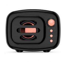 B11 Bluetooth 5.0 Stereo Vintange Loud Speaker Support TF Card AUX Input - Black