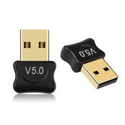 USB Bluetooth 5.0 Adapter for PC Win 10/8.1/8/7/XP/Vista with CD