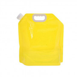 Collapsible Water Tank Container BPA Free Outdoor Container for Camping Hiking Picnic 5L/165 OZ - Yellow