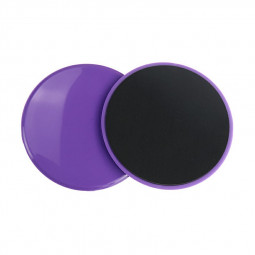 Fitness Gliders Workout Bums Leg Slide Discs Core Slider Exercise Training - Purple