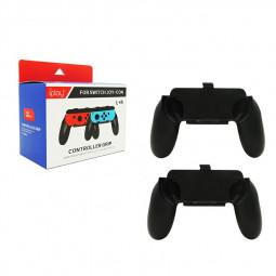2 pcs Nintendo Switch Grip Handle Handheld Protective Case Nintendo Switch Joy-Con - Black