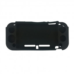 Soft Silicone Case Protective Cover for Nintendo Switch Lite Game Console Controller Back Shell - Black