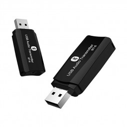 2 in 1 BT 5.0 Audio Receiver Transmitter Wireless Mini Adapter Stereo Music Transceiver AUX USB Wireless Dongle