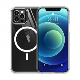 Clear Magnetic Safe Back Case Protective Phone Cover for iPhone 11 Pro Max