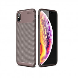 Rugged Armor PC Combination Case for iPhone X/XS - Brown