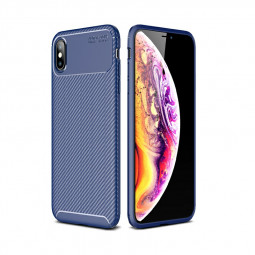 Rugged Armor PC Combination Case for iPhone XS Max - Blue
