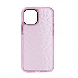 Slim Silicone Clear TPU Back Case for iPhone 12 Pro Max - Pink