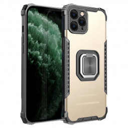 Rugged Armor TPU + PC Combination Case for iPhone 12 Pro Max - Gold