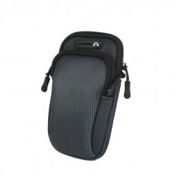Universal Waterproof Outdoor Sports Running Armband Mobile Phone Bag - Black