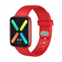 GT9 Smart WatchFitness Tracker IPS Calories Heart Rate Sleep Monitor Wrist Band - Red