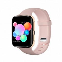 K80 Fitness Tracker Calories Heart Rate Health Check Sleep Monitor Wrist Band - Pink
