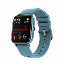 P9 Smart Watch Band Fitness Tracker IPS Calories Heart Rate Sleep Monitor Wrist Band - Blue