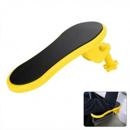 Attachable Armrest Pad Desk Computer Table Arm Support - Yellow