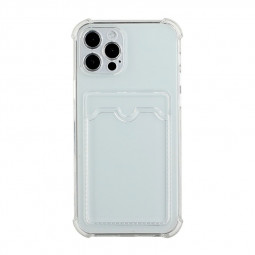 TPU Soft Skin Silicone Protective Case for iPhone 12 Pro - Clear