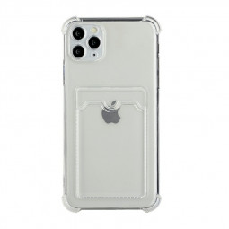 TPU Soft Skin Silicone Protective Case for iPhone 11 Pro Max - Clear