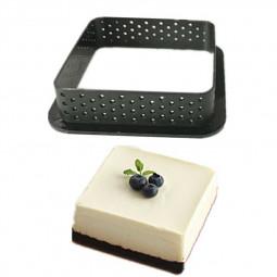 Cake Mold Mousse Tart Plastic Dessert Pies Decorating Tool - Square Shape