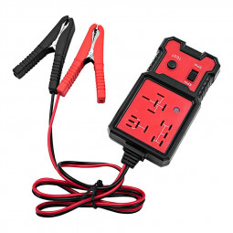 12V Electronic Automotive Relay Tester Auto Car Diagnostic Battery Checker Tool