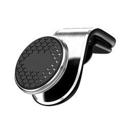 Universal Magnetic Air Vent  Phone Holder for Mobile Phones GPS - Silver