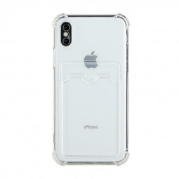 TPU Rubber Soft Skin Silicone Protective Case for iPhone X/XS - Clear