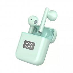T18 5.0 TWS Wireless Mini Bluetooth Headphones - Green
