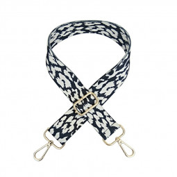 130cm Adjustable Replacement Strap for Crossbody Bag Detachable Handle - White