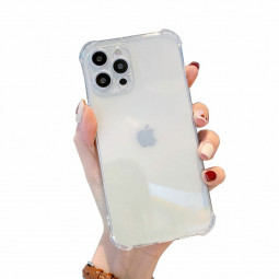 Clear Ultra Thin Soft Skin Silicone Protective Case for iPhone 13 Pro Max - Clear