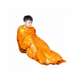 PE Orange Emergency Sleeping Bag Cold and Heat Insulation Used for Outdoor Climbing and Camping