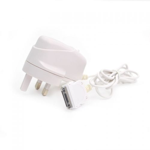 High Quality 2.1A UK Charger Adapter with Cable for iPad2/3 iPhone 4S - White