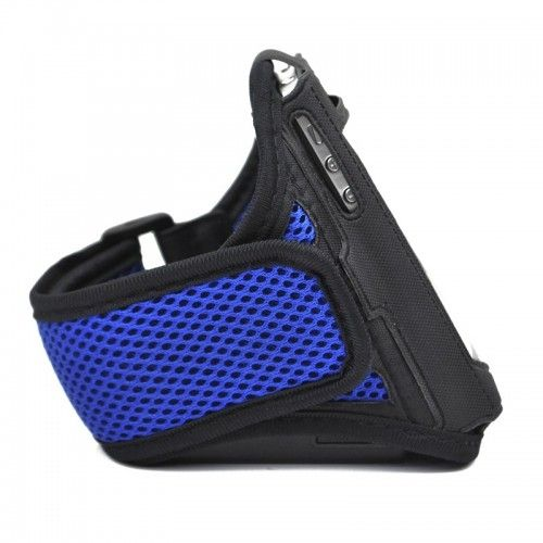 iPhone 4G / 4S Armband Exercise Band Running Cover Sport Gym Workout -Dark blue