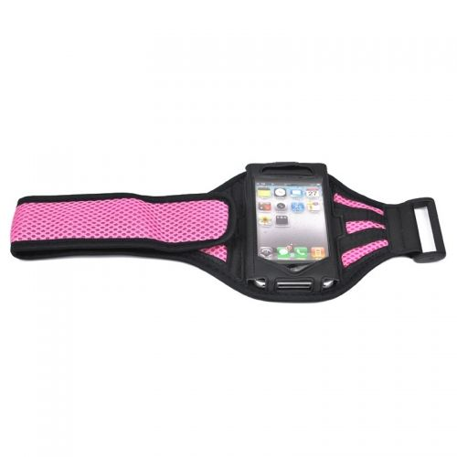 Pink Running Sport Gym Workout Armband Cover Case for Apple iPhone 5