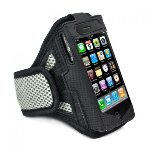 Gray Running Sport Gym Workout Armband Cover Case for Apple iPhone 5