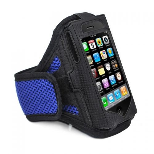 Dark blue Running Sport Gym Workout Armband Cover Case for Apple iPhone 5