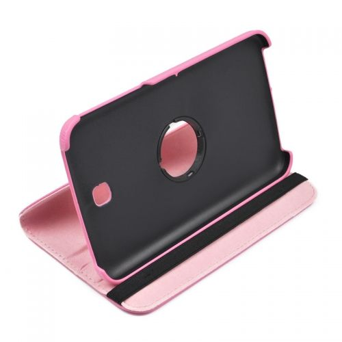 360 Rotation Case Cover for Samsung P3200--Pink