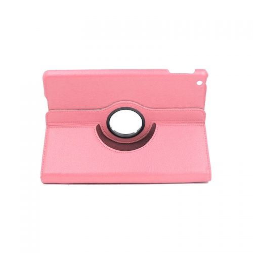 Pure Color Two Fold Stand Case Cover for iPad 5(Air)---Pink