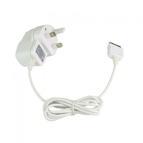 High Quality 5V/1A  1000mA TC039 Charger with Cable for Iphone 3G/4S iPad -- White
