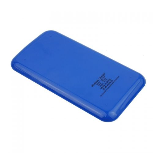 QI Wireless Charger Transmitter for QI Standard Mobile Phones- Blue